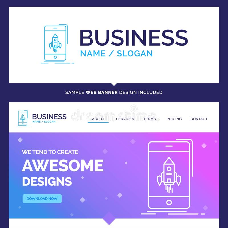 Beautiful Business Concept Brand Name game, gaming, start, mobil vector illustration