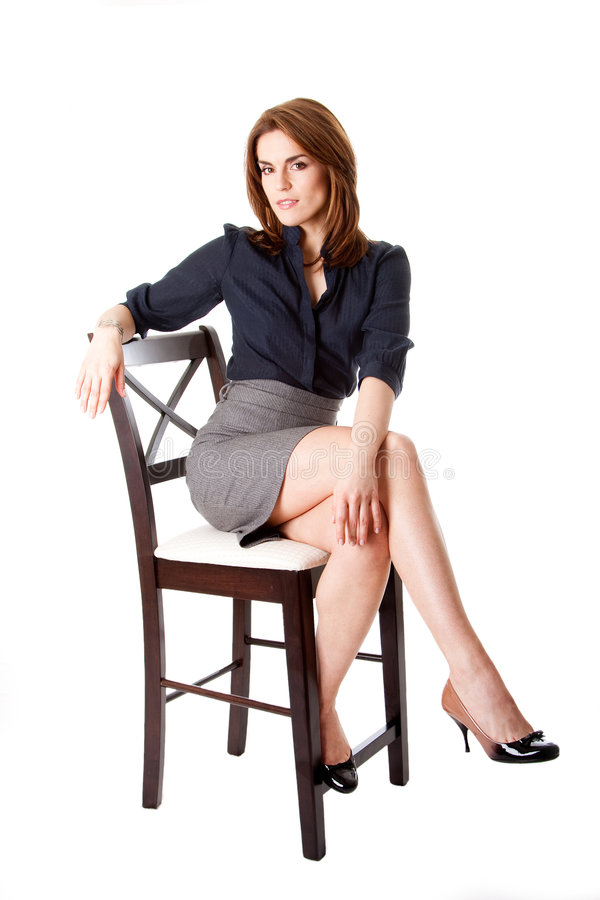 Download Beautiful business woman stock image. Image of skirt, girl - 8793263
