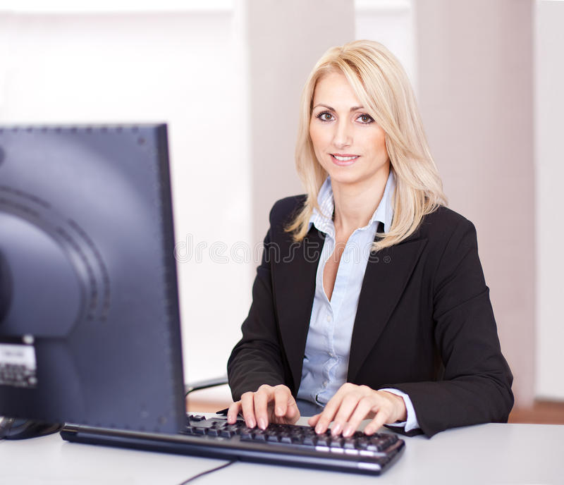 Download Beautiful businesswoman stock image. Image of confident - 23080705