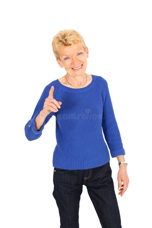 Beautiful businesswoman posing stock images
