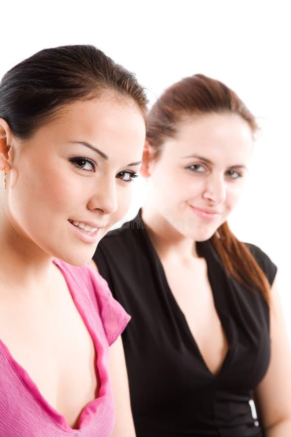 Beautiful businesswomen royalty free stock photos