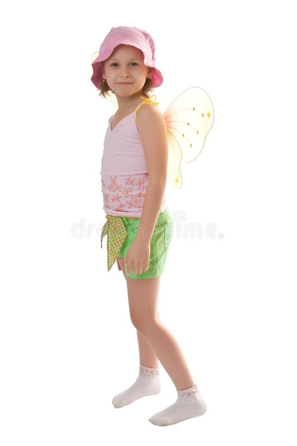 Download Beautiful butterfly stock photo. Image of butterfly, blond - 8098146