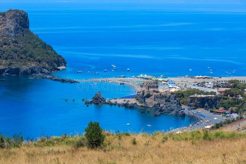 Island Isola di Dino, Calabria, Italy royalty free stock photos