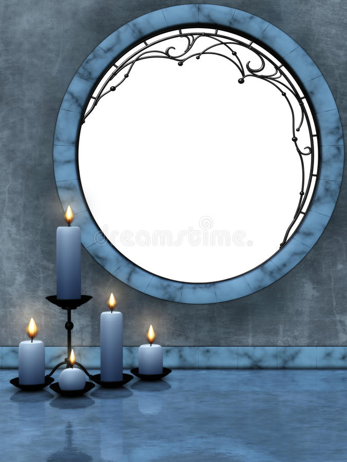 Download Beautiful candles 2 stock illustration. Image of candlelight - 18631161