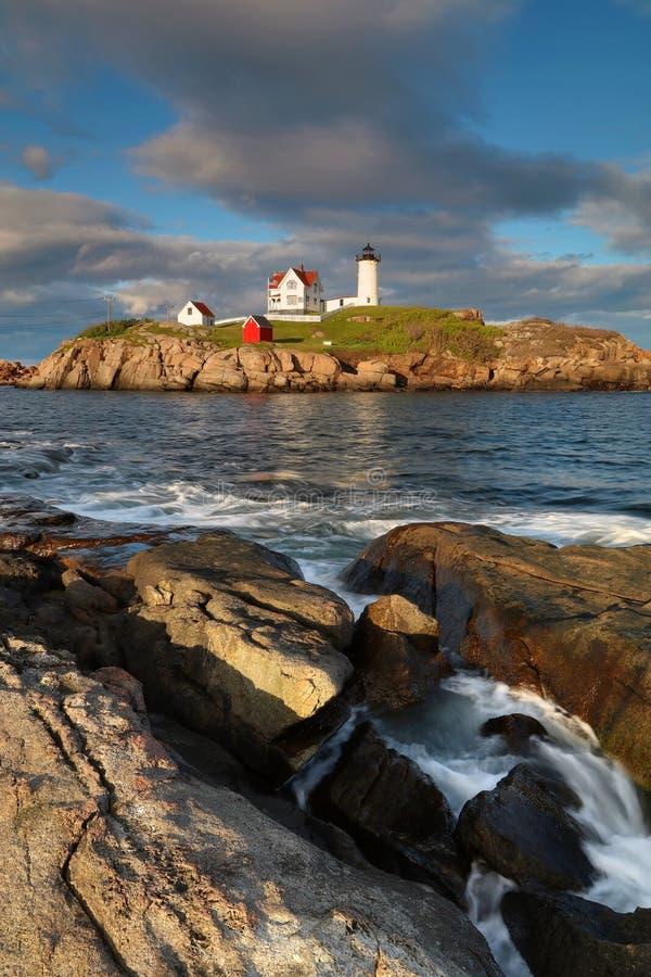Free Beautiful Cape Neddick Lighthouse Stock Photo - 95233450