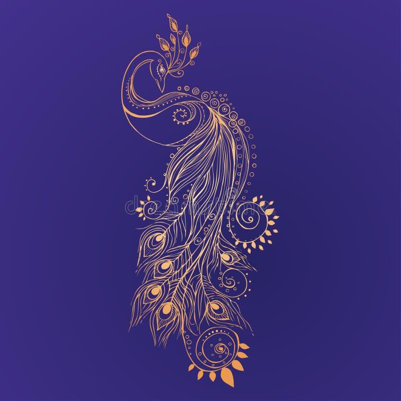 Beautiful card royalty free illustration