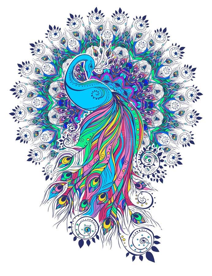 Beautiful card vector royalty free illustration