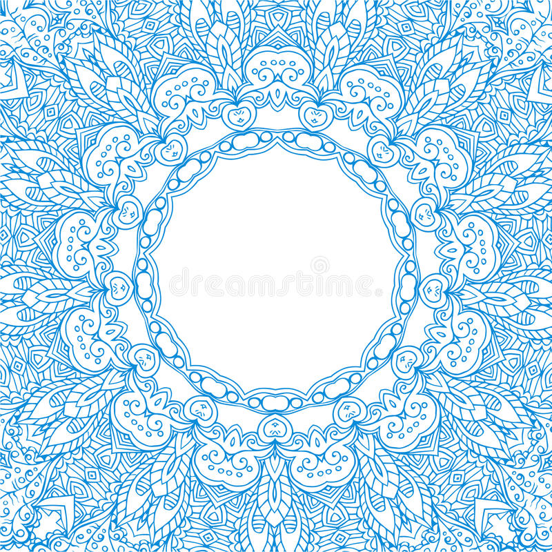 Beautiful card vector stock illustration