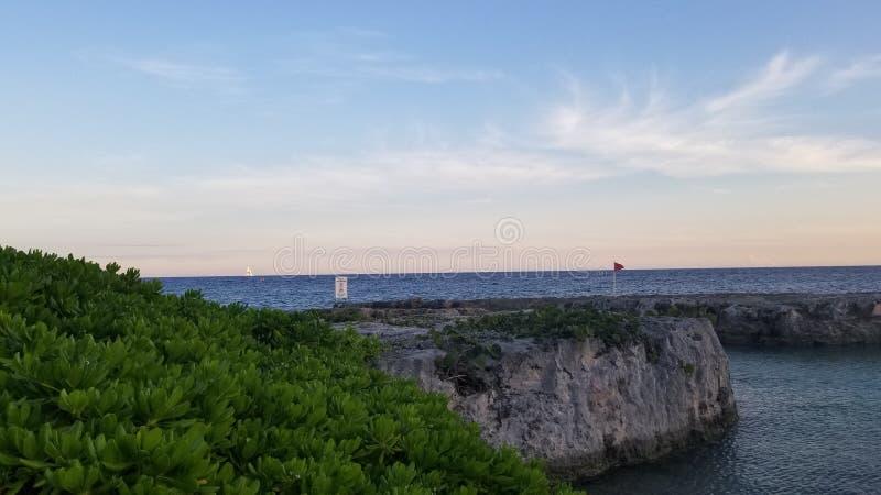 Carribean Sea royalty free stock photo