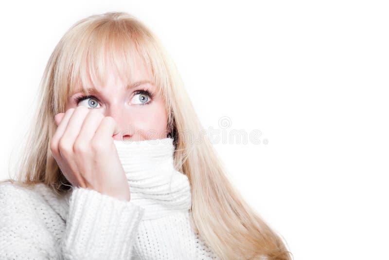 Download Beautiful Caucasian Winter Woman Stock Image - Image: 10866633