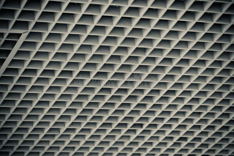 Beautiful ceiling interior design isolated object photograph royalty free stock photography