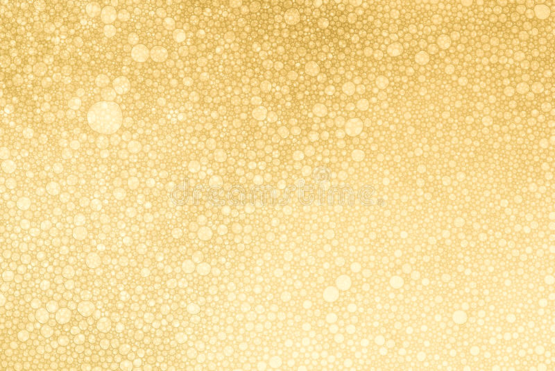 Beautiful Champagne Gold Bubbles texture royalty free stock photo