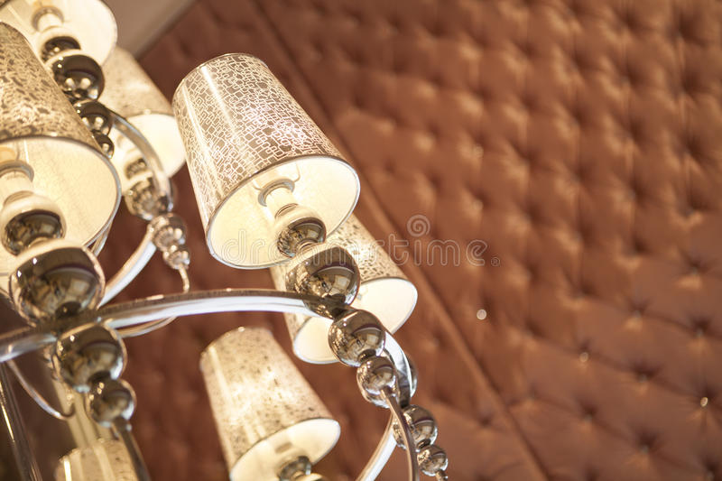Download Beautiful chandelier stock image. Image of detail, modern - 25533699