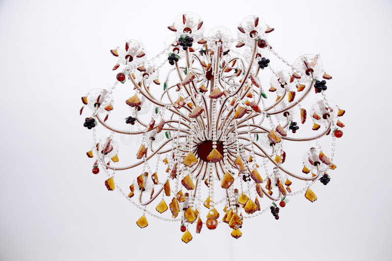 Download Beautiful chandelier stock photo. Image of decoration - 4877370