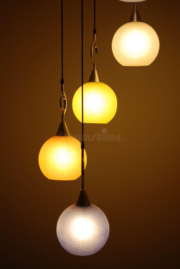 Beautiful chandelier backgrounds stock image