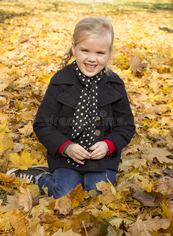Beautiful cheerful girl royalty free stock images