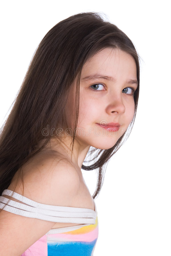 Beautiful child stock photo