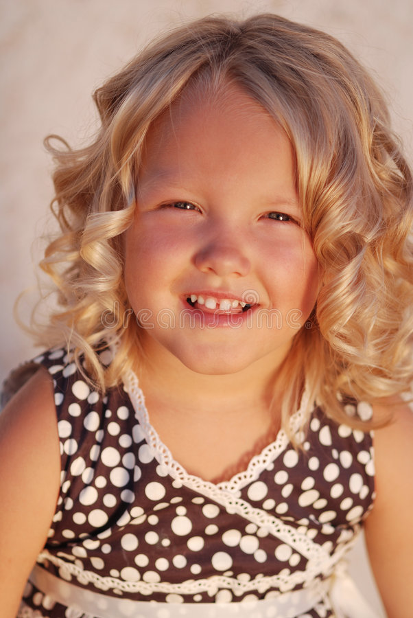 Beautiful child. royalty free stock photos