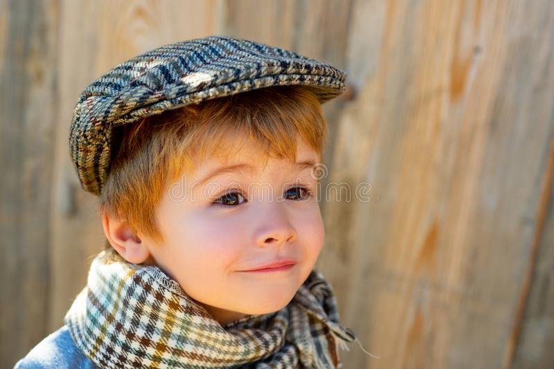Beautiful child face. Childrens emotions. Astonished look. Happy child. royalty free stock photography