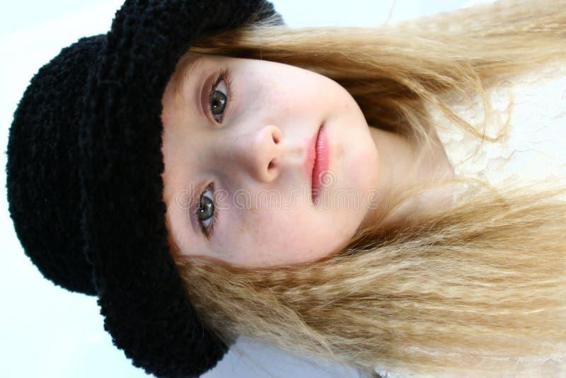 Beautiful child model stock image