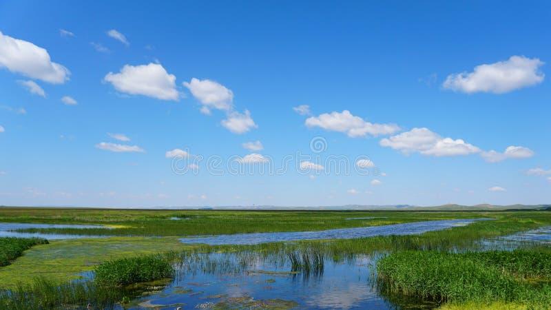 Beautiful Chinese Inner Mongolia Prairie stock images