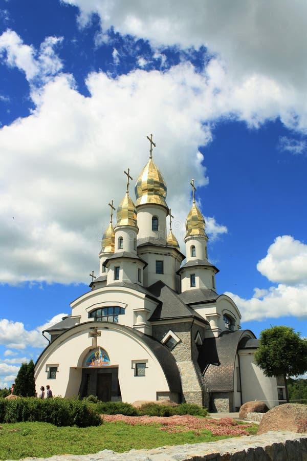 Beautiful christian church stock image