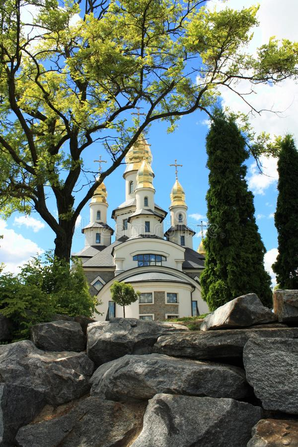 Beautiful christian church stock photos