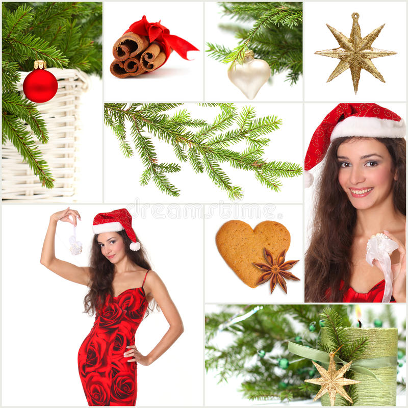 Download Beautiful Christmas Collage Stock Photos - Image: 16853113