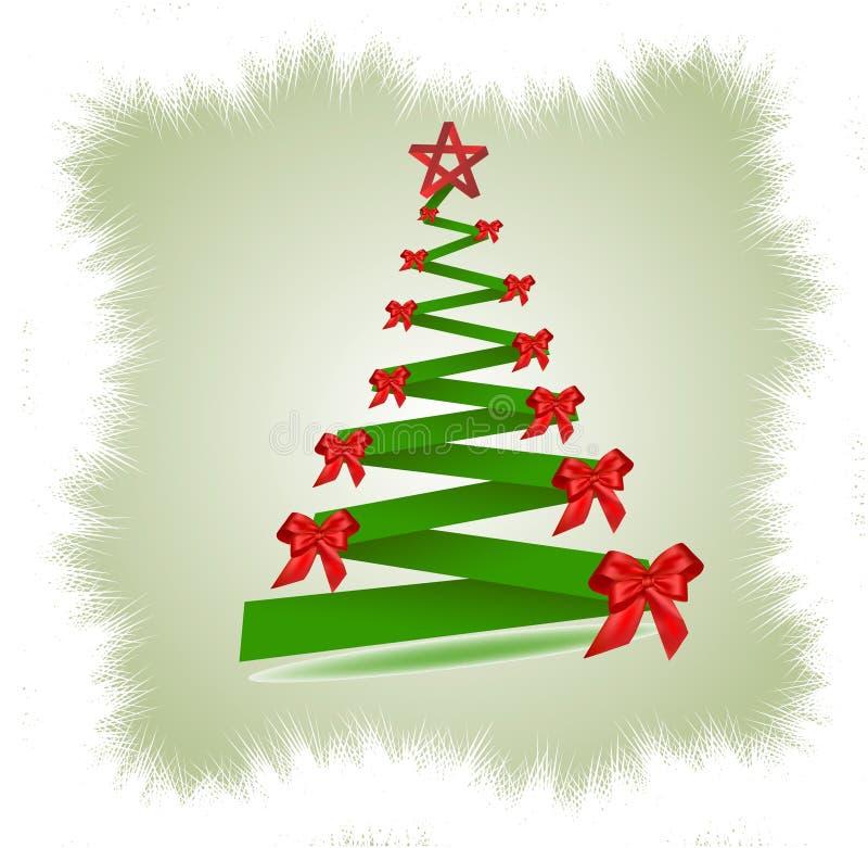 beautiful christmas isolated tree ελεύθερη απεικόνιση δικαιώματος