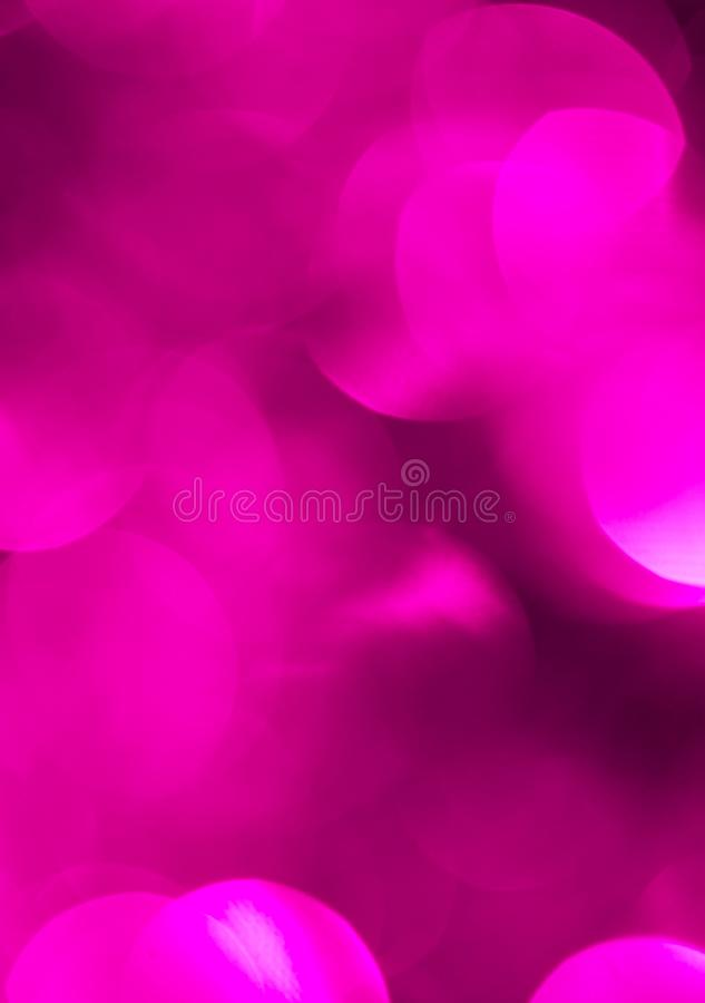 Beautiful Christmas purple bokeh. background royalty free stock images
