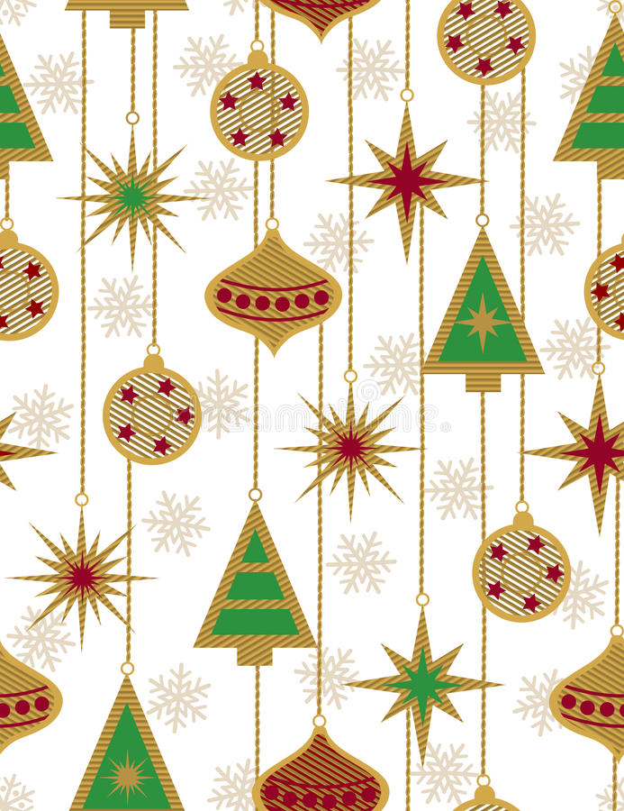 Download Beautiful Christmas Seamless Vector Patter Stock Vector - Image: 11174063