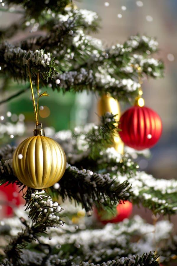 Download Beautiful christmas tree stock photo. Image of ball, decor - 16862332