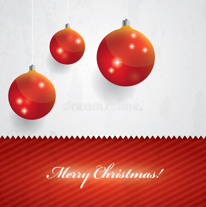 Free Beautiful Christmas Vector Background Royalty Free Stock Image - 27903876
