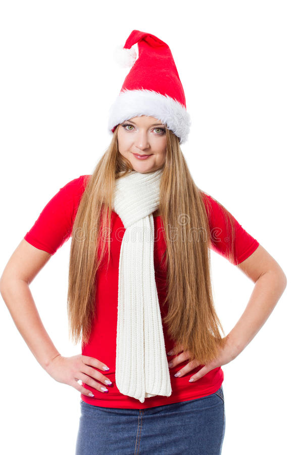 Download Beautiful Christmas Woman Royalty Free Stock Photo - Image: 22283315