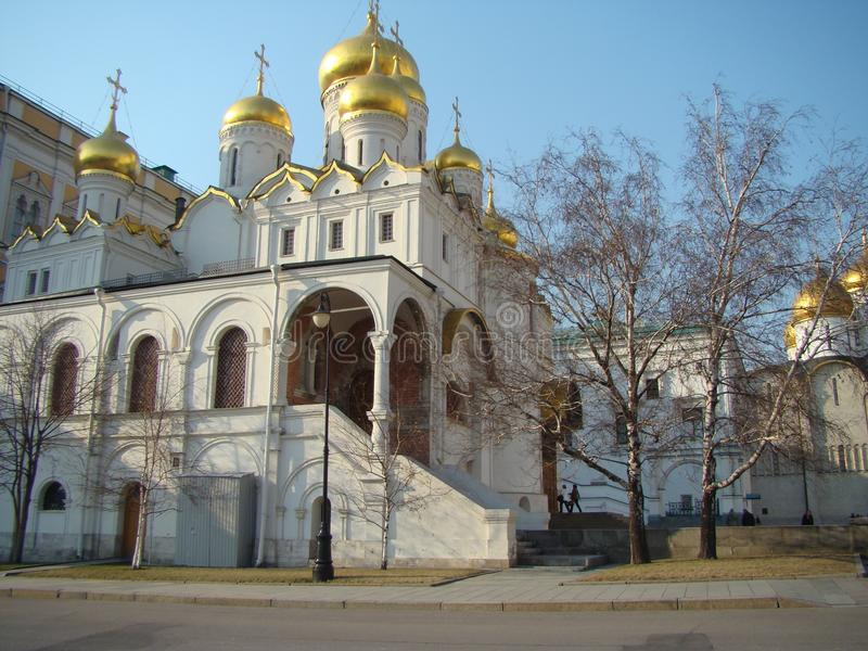 Orthodox church in Moscow royalty free stock image
