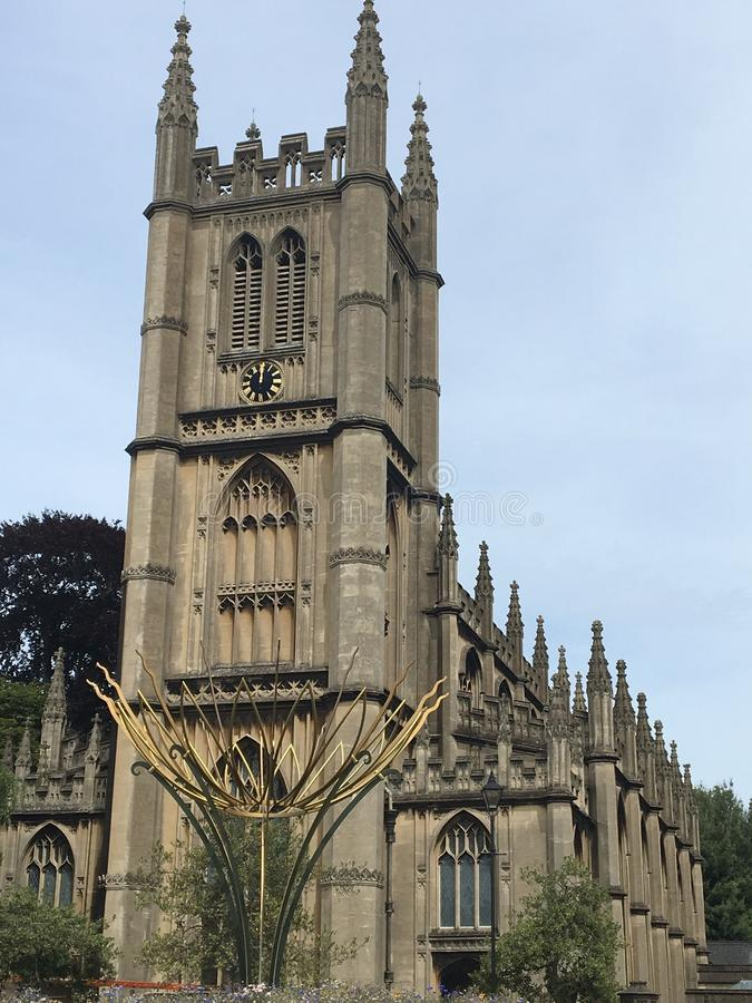 Beautiful Church in Bath UK stock images