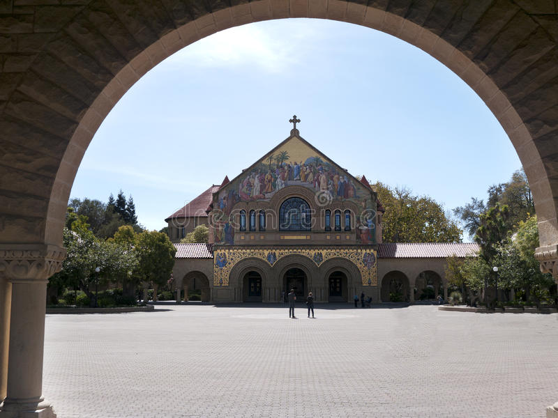 Download The Memorial Church At Stanford Stock Image - Image: 29841039