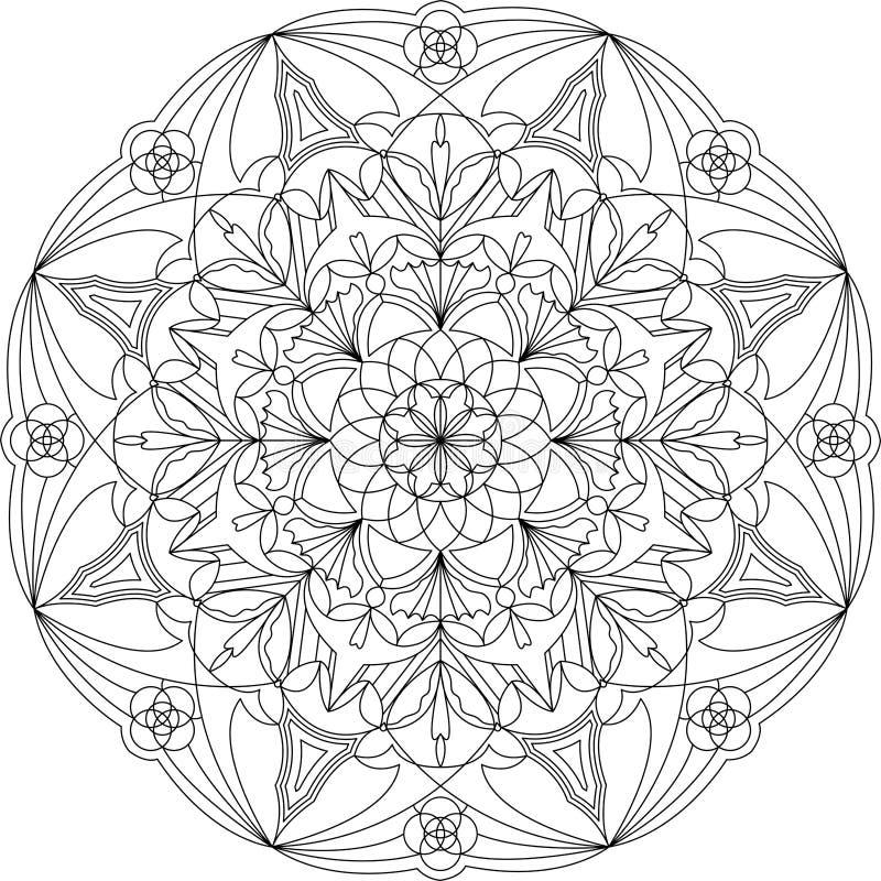 Circle Mandala Coloring Pages Sketch Coloring Page