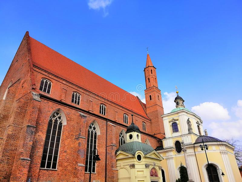 Beautiful city of Wrocław, Silesia, Poland. royalty free stock image
