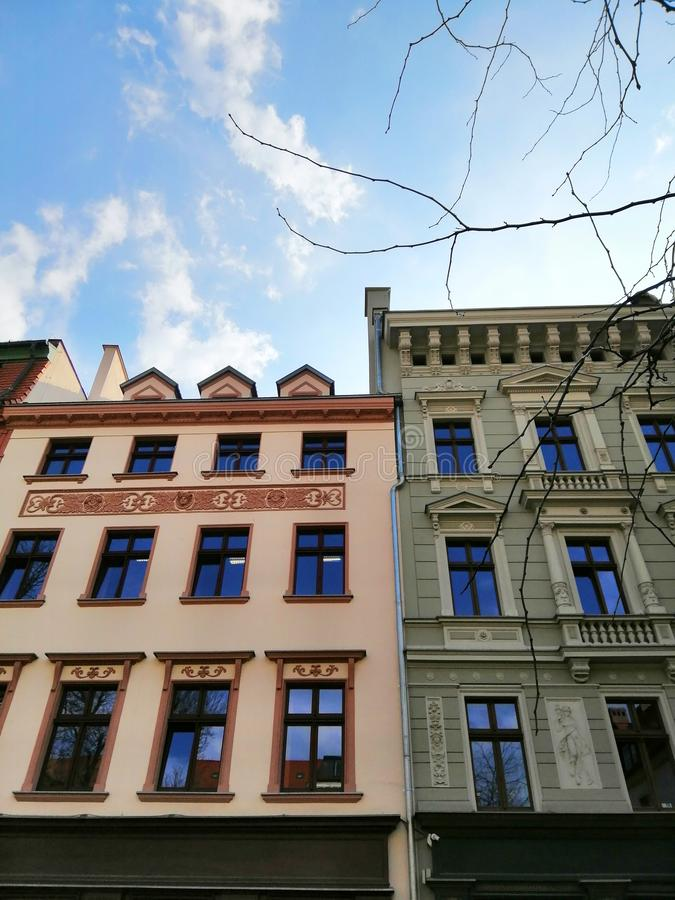 Beautiful city of Wrocław, Silesia, Poland. royalty free stock images