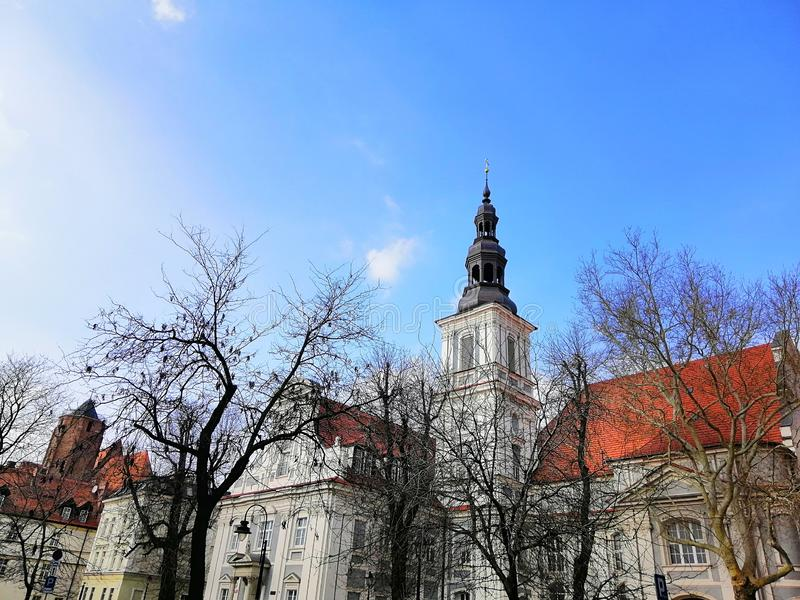 Beautiful city of Wrocław, Silesia, Poland. stock image