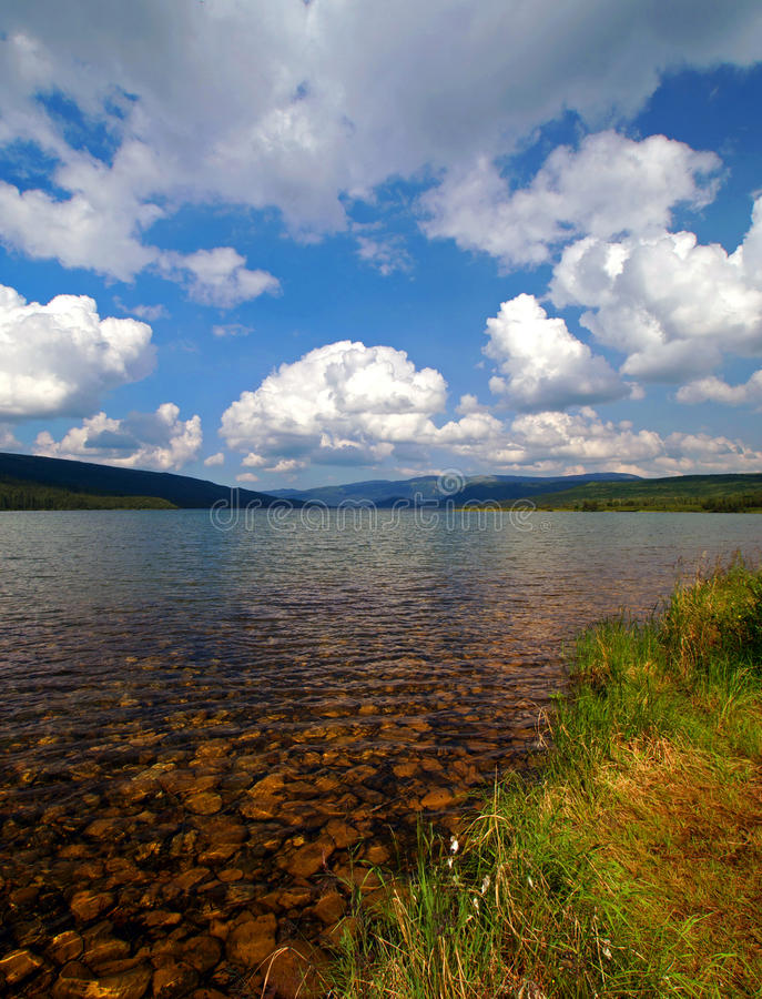 Download Beautiful Clear Lake With Mountains Stock Photo - Image: 12328768