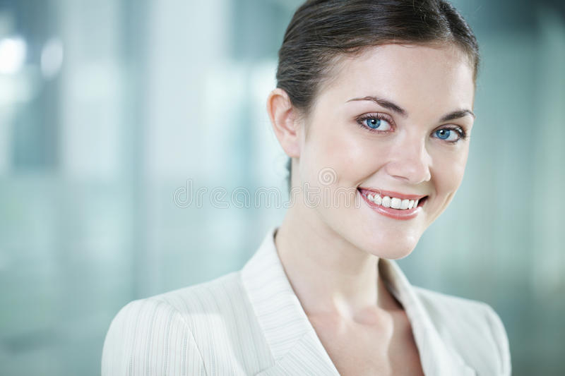 Download Beautiful clerk stock photo. Image of happy, corporate - 22620388
