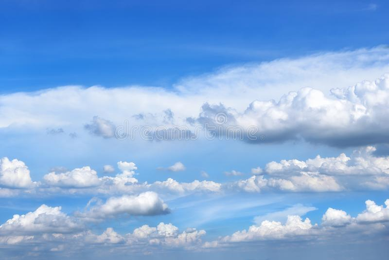 Cloud and blue sky. Beautiful cloud and blue sky stock image