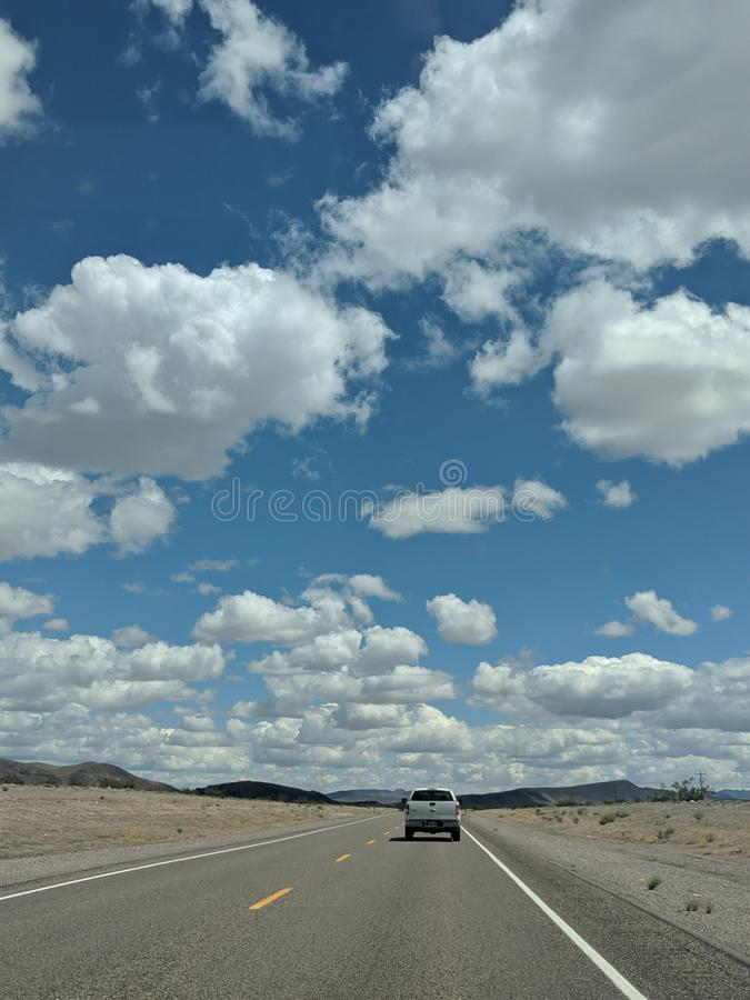 Beautiful Clouded Sky stock image