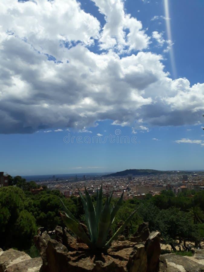beautiful clouds royaltyfri bild