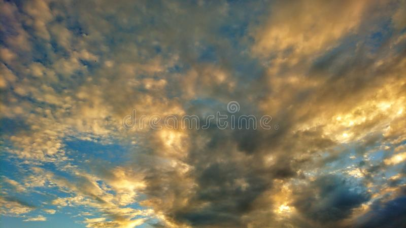 beautiful clouds 免版税库存图片