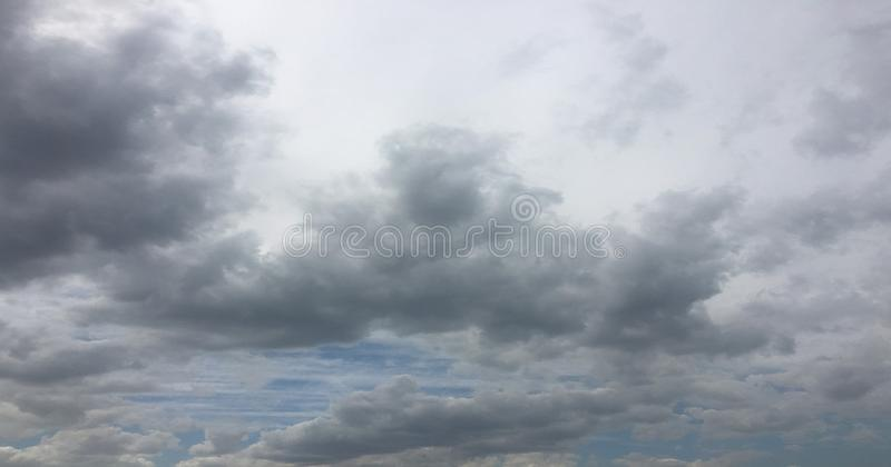 Beautiful clouds against a blue sky background. Cloud sky. Blue sky with cloudy weather, nature cloud. White clouds. Blue sky and sun royalty free stock images