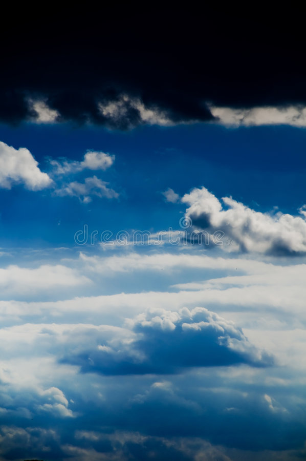 Download Beautiful Clouds On The Blue Sky Stock Photo - Image: 4864608