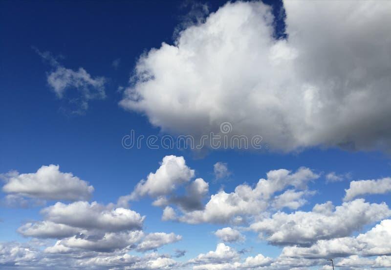 Beautiful Clouds. Blue sky. Nature stock photos